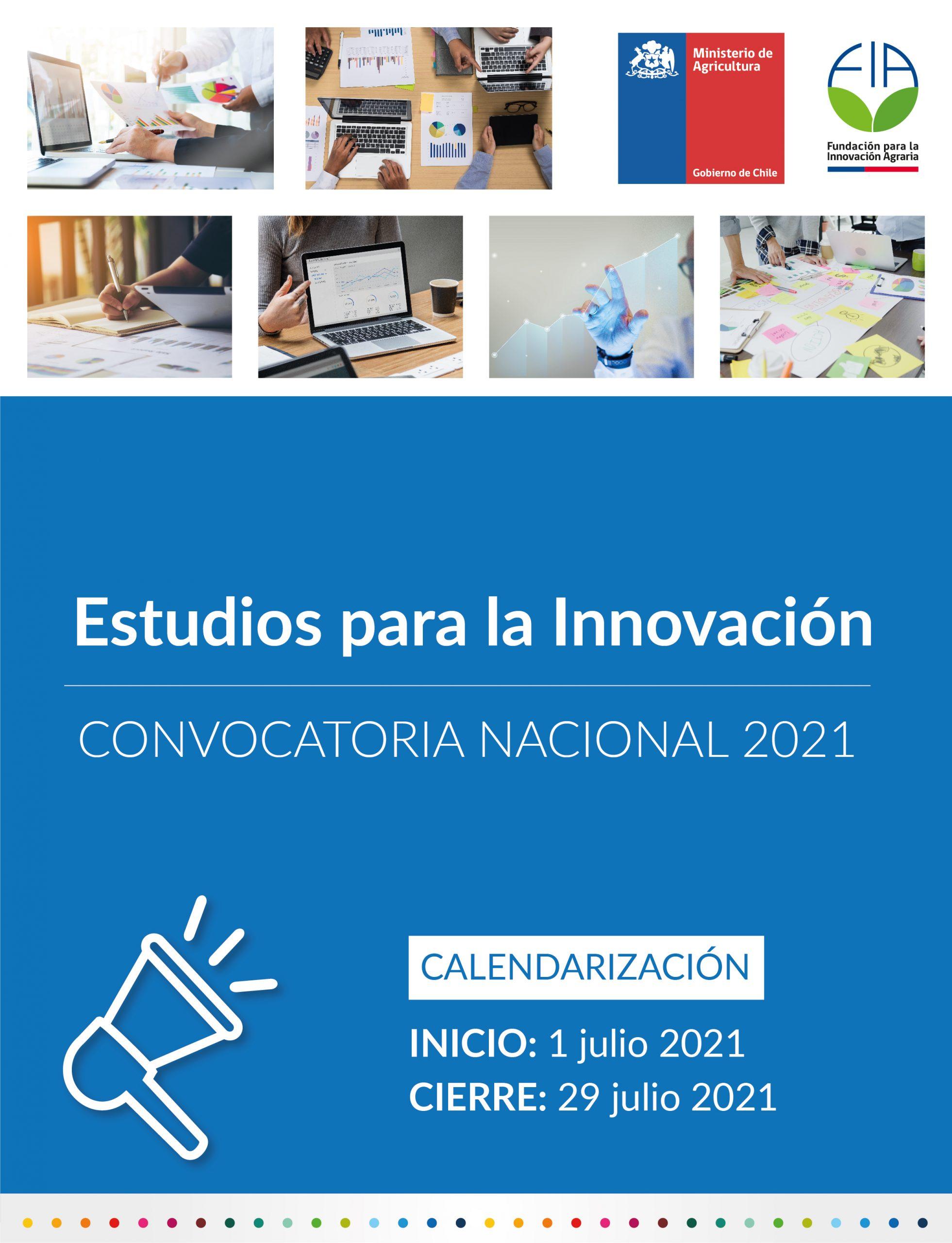 Estudios para la innovación 2021