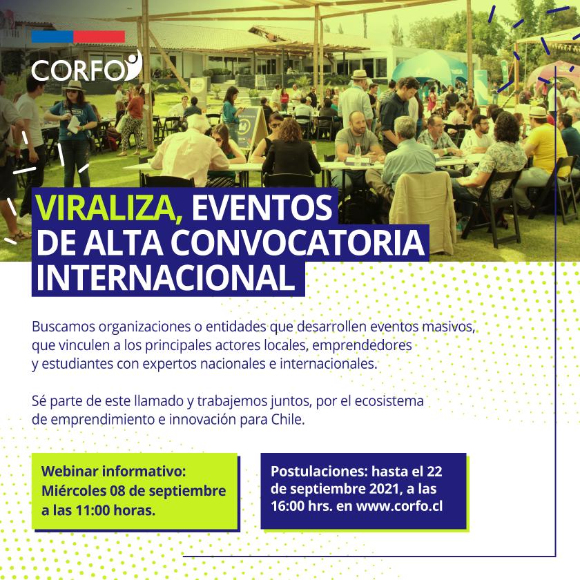 Viraliza, eventos de alta convocatoria internacional